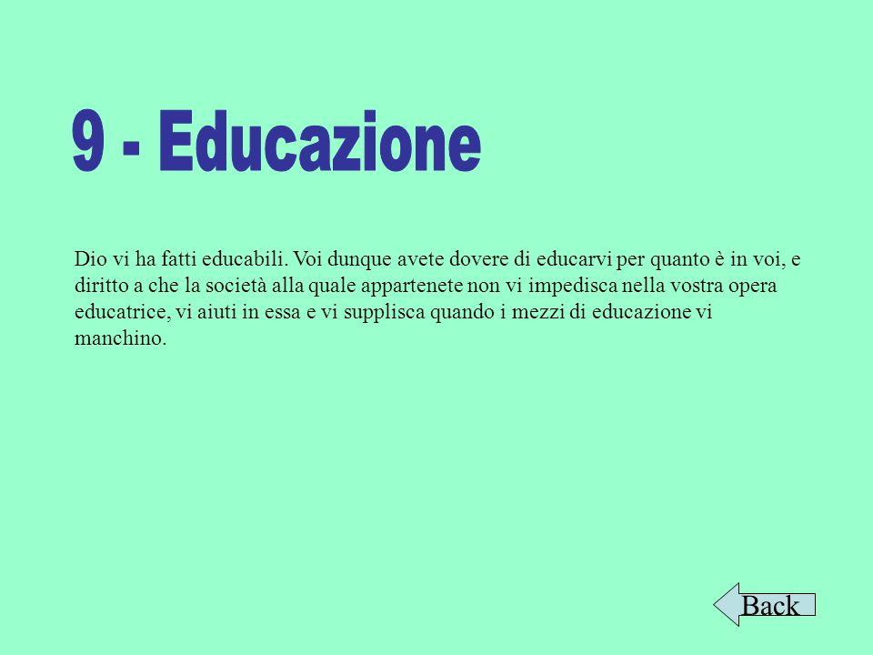 9 - Educazione