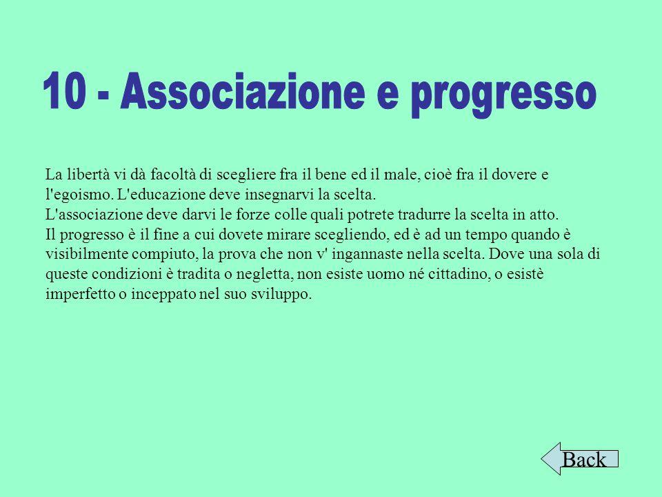 10 - Associazione e progresso