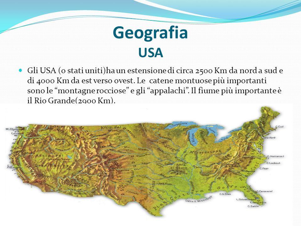 Geografia USA