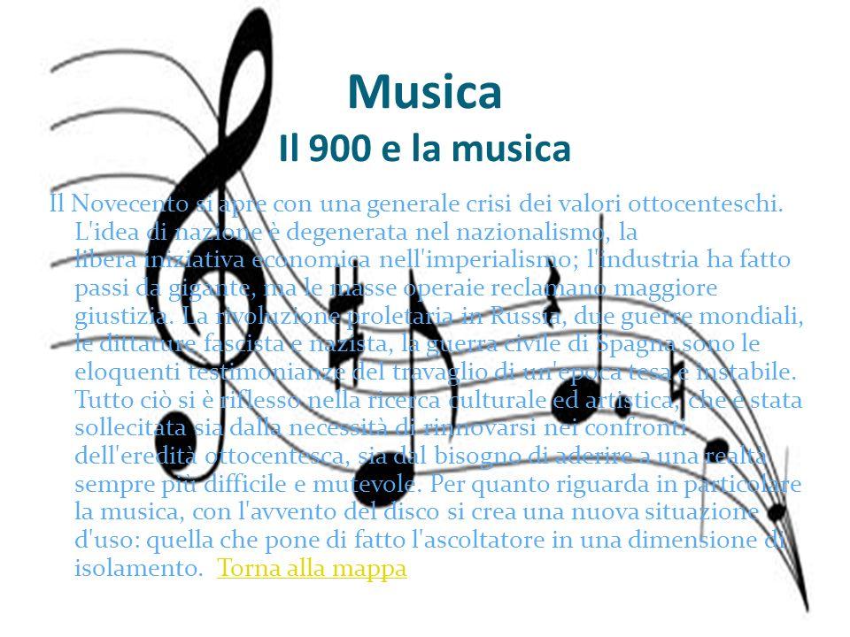 Musica Il 900 e la musica