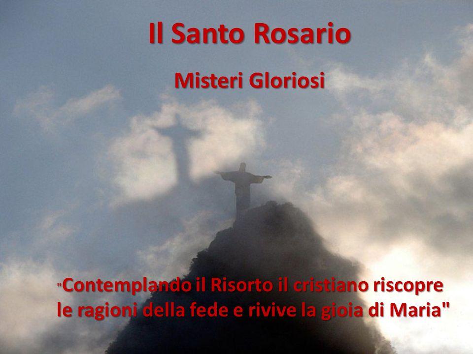 Il Santo Rosario le ragioni della fede e rivive la gioia di Maria
