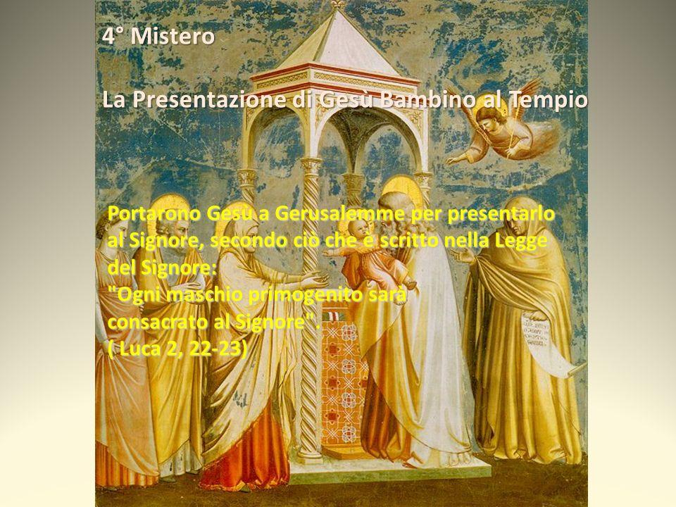 La Presentazione di Gesù Bambino al Tempio
