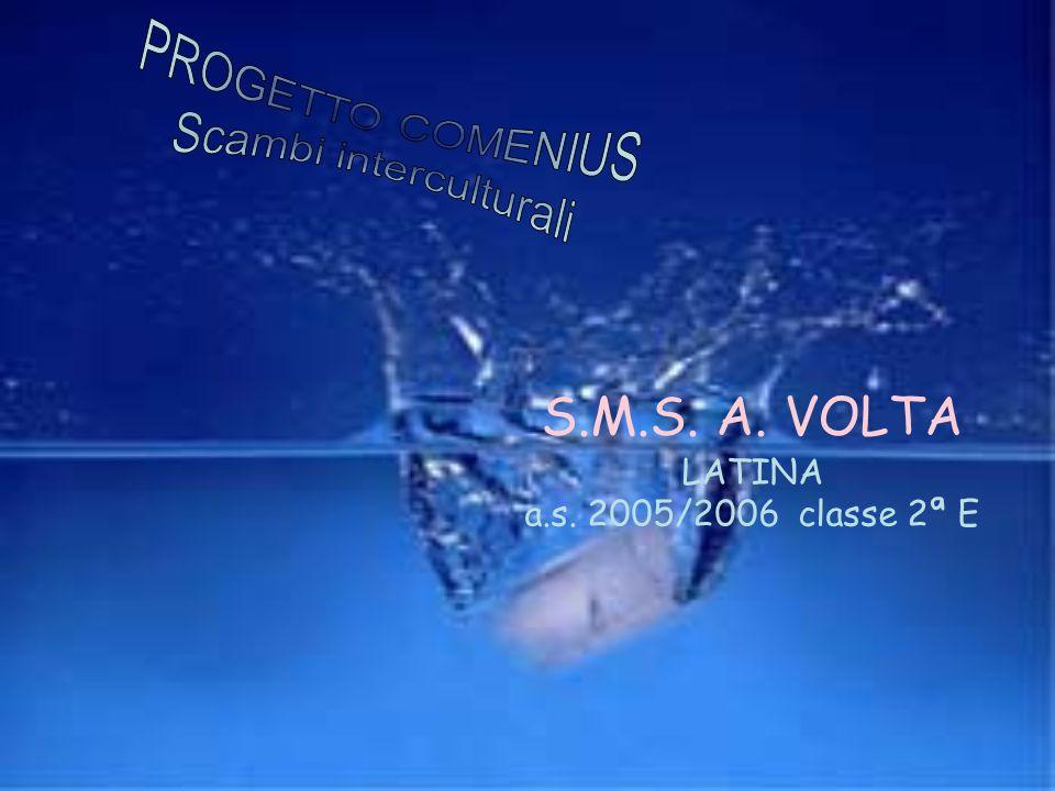 S.M.S. A. VOLTA LATINA a.s. 2005/2006 classe 2ª E