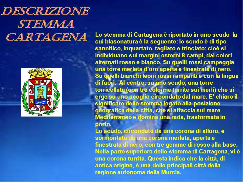 Descrizione stemma Cartagena