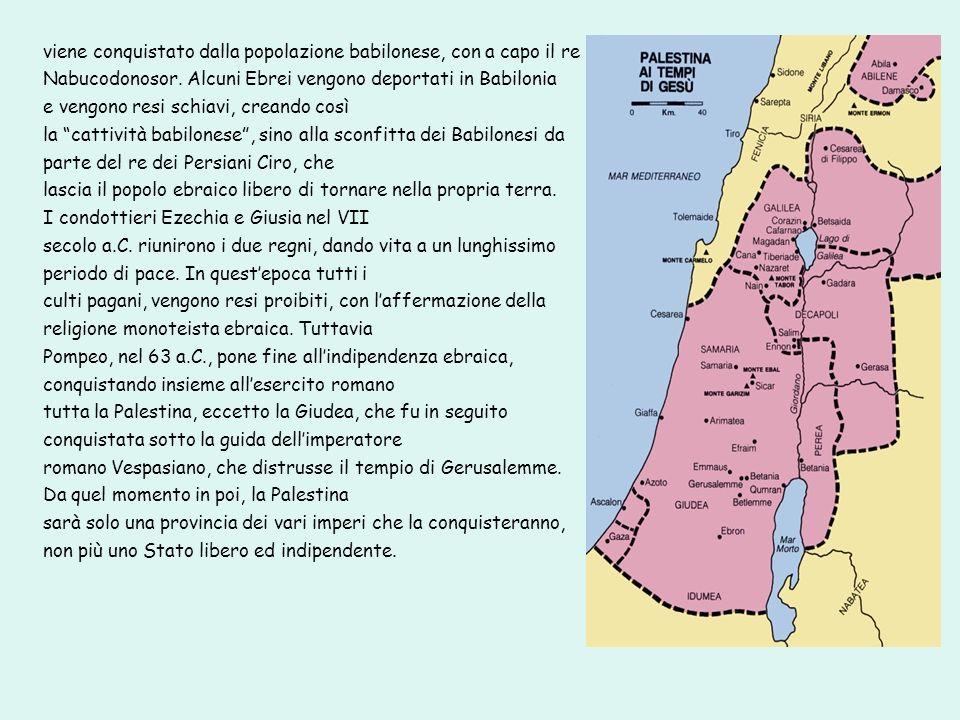 viene conquistato dalla popolazione babilonese, con a capo il re