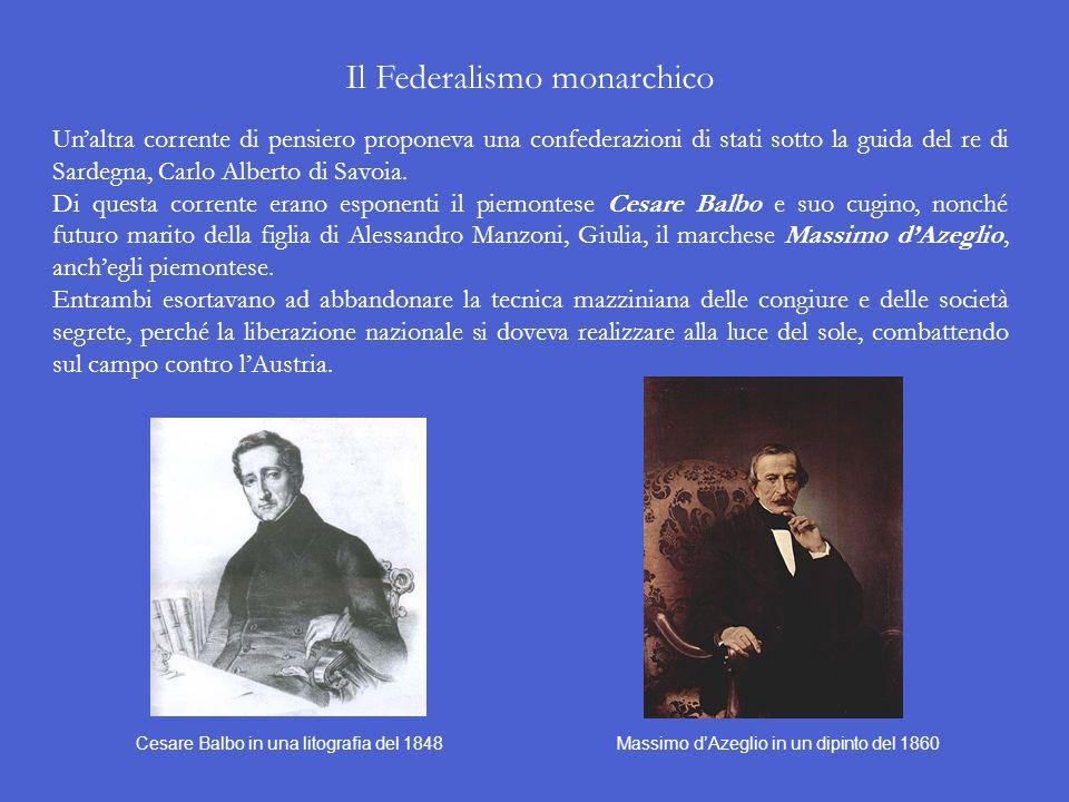 Il Federalismo monarchico