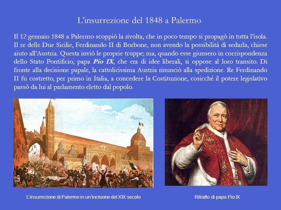 L'insurrezione del 1848 a Palermo