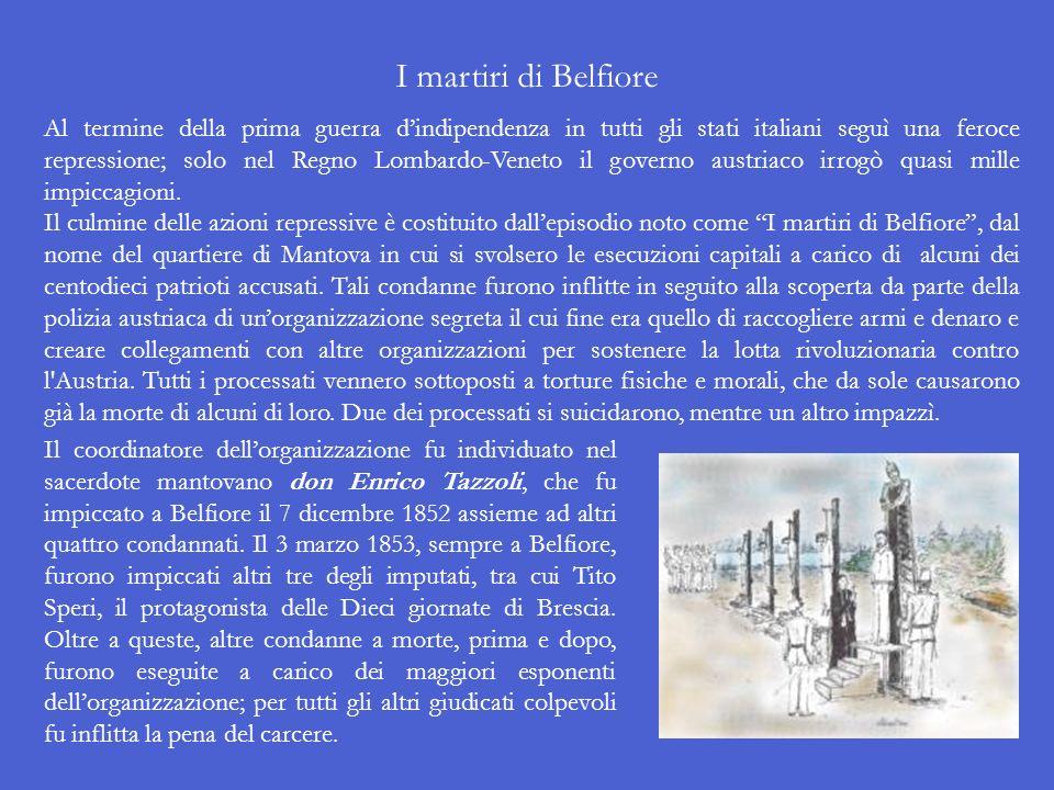 I martiri di Belfiore