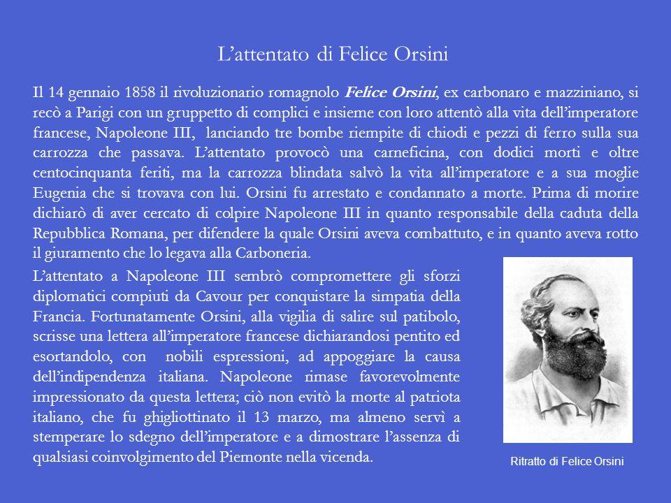 L'attentato di Felice Orsini