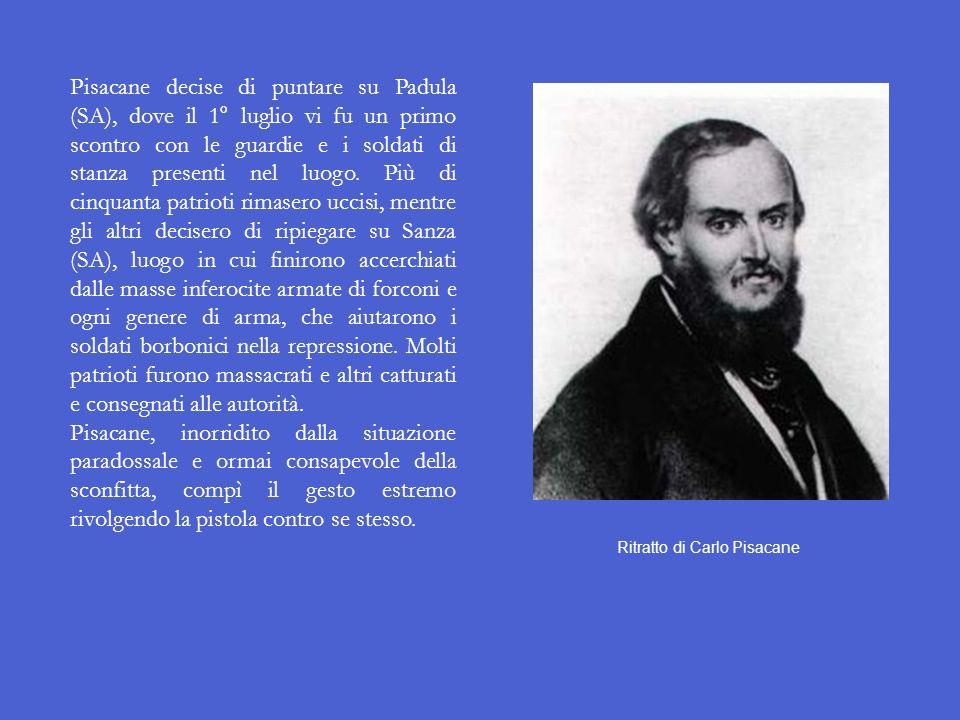 Ritratto di Carlo Pisacane