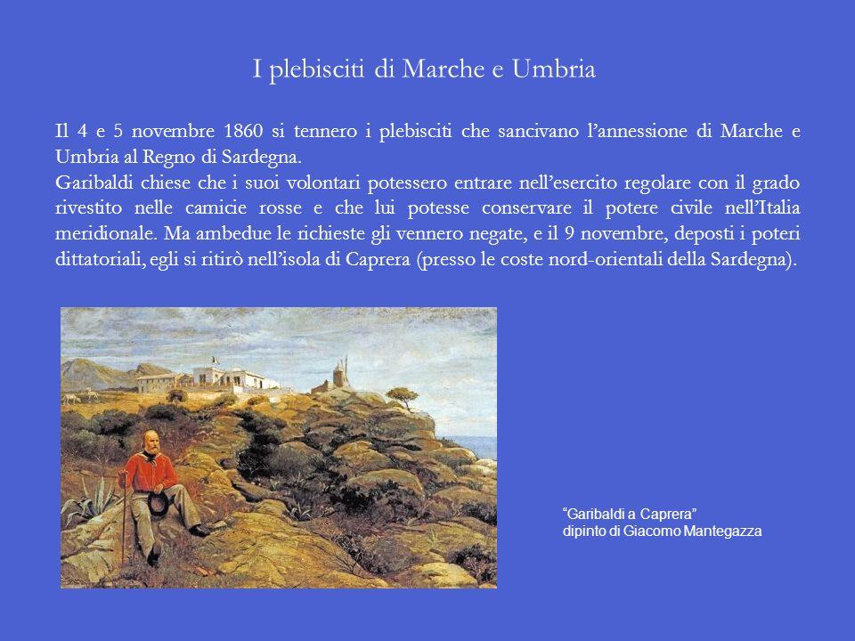 I plebisciti di Marche e Umbria