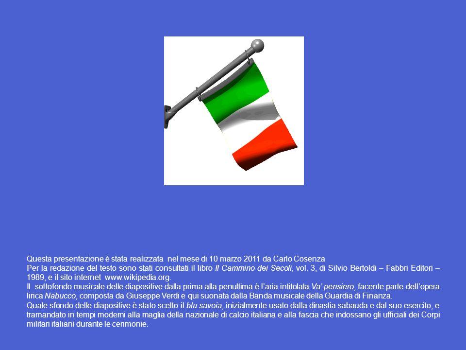 Questa presentazione è stata realizzata nel mese di 10 marzo 2011 da Carlo Cosenza