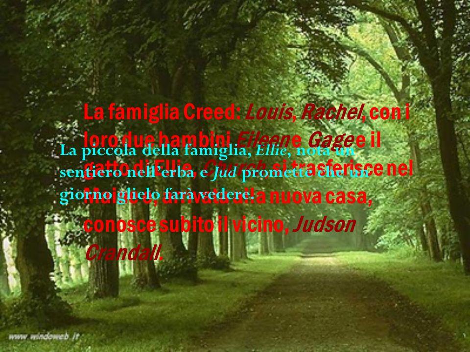 La famiglia Creed: Louis, Rachel, con i loro due bambini Eileen e Gage e il gatto di Ellie, Church, si trasferisce nel Maine e, arrivata alla nuova casa, conosce subito il vicino, Judson Crandall.