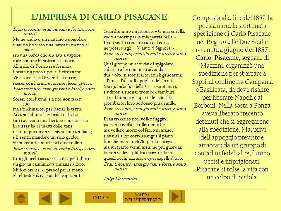 L'IMPRESA DI CARLO PISACANE