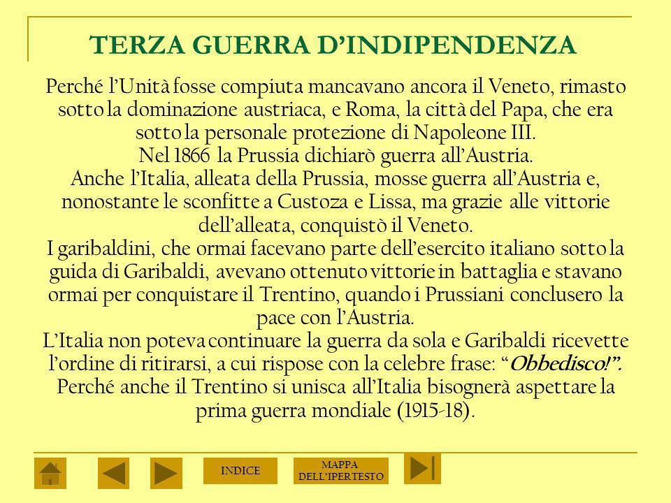 TERZA GUERRA D'INDIPENDENZA