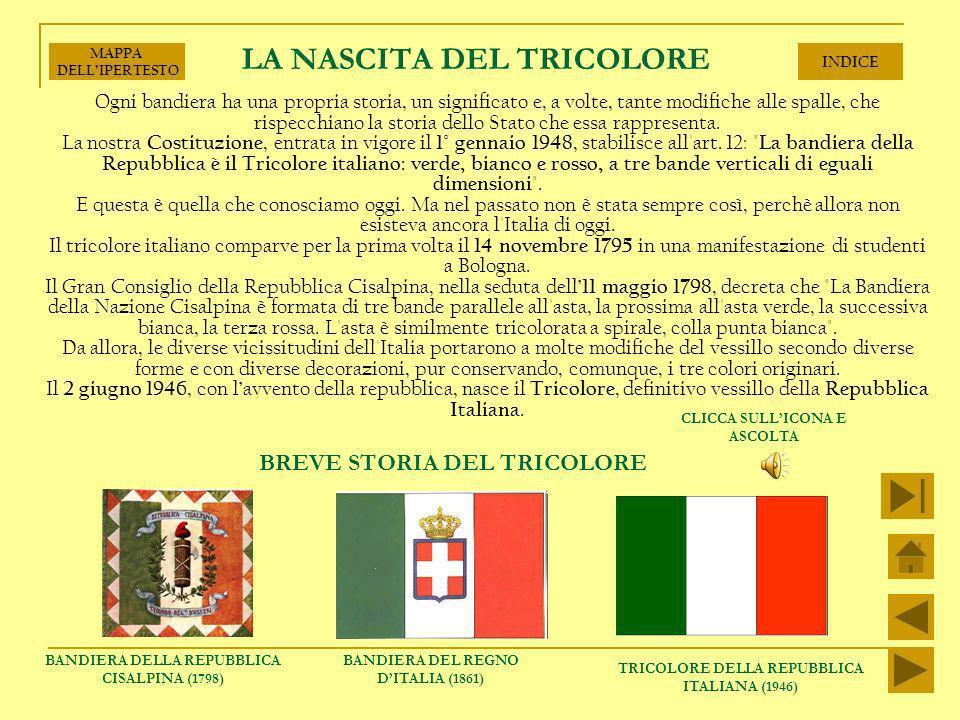 LA NASCITA DEL TRICOLORE