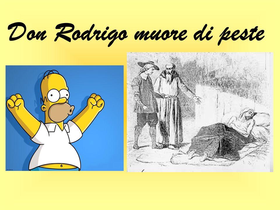 Don Rodrigo muore di peste