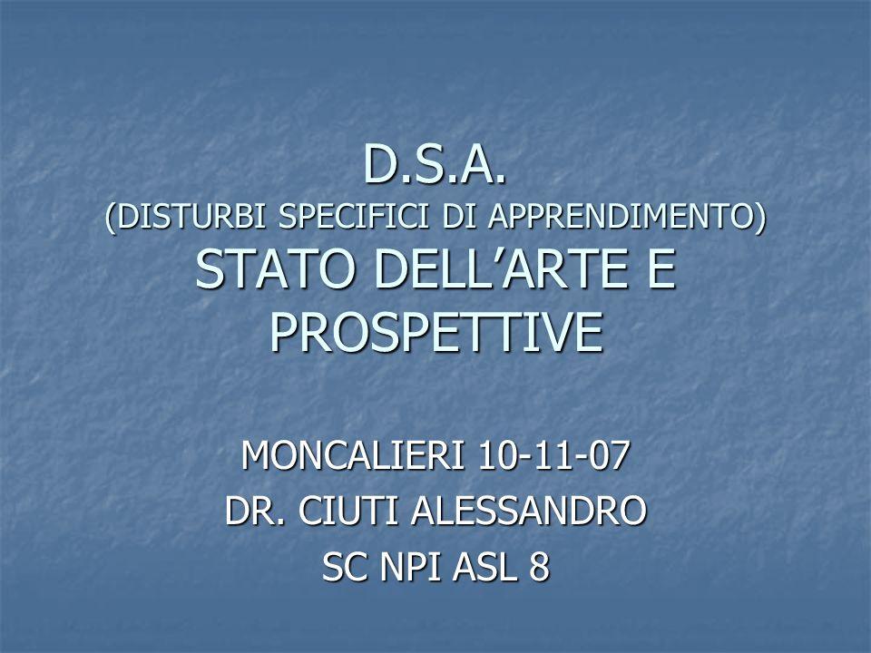 MONCALIERI 10-11-07 DR. CIUTI ALESSANDRO SC NPI ASL 8