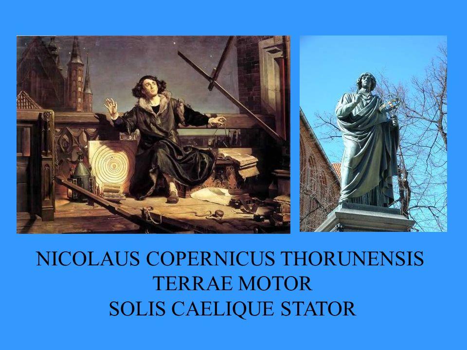 NICOLAUS COPERNICUS THORUNENSIS