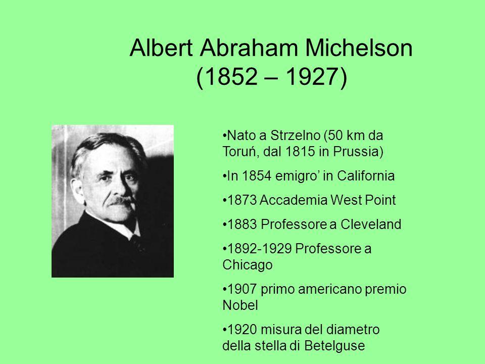 Albert Abraham Michelson (1852 – 1927)