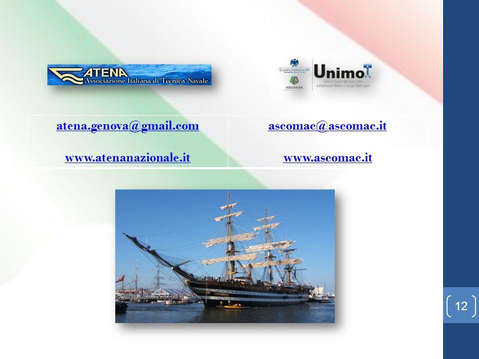 atena.genova@gmail.com www.atenanazionale.it ascomac@ascomac.it www.ascomac.it