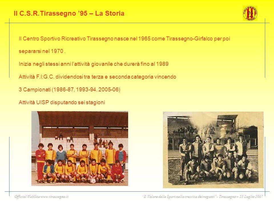 Il C.S.R.Tirassegno '95 – La Storia