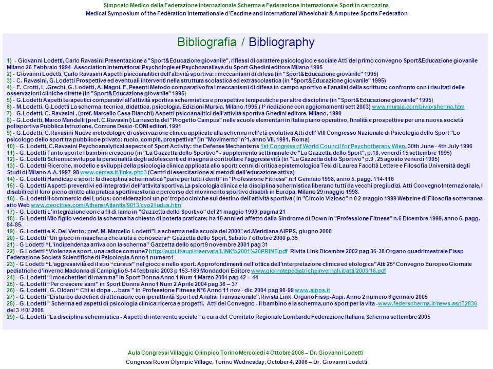 Bibliografia / Bibliography