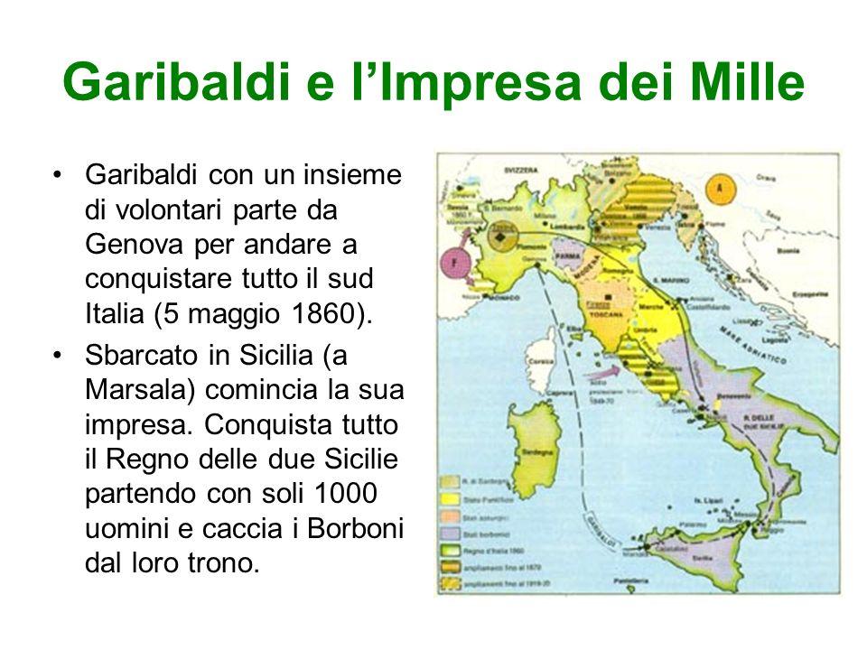Garibaldi e l'Impresa dei Mille