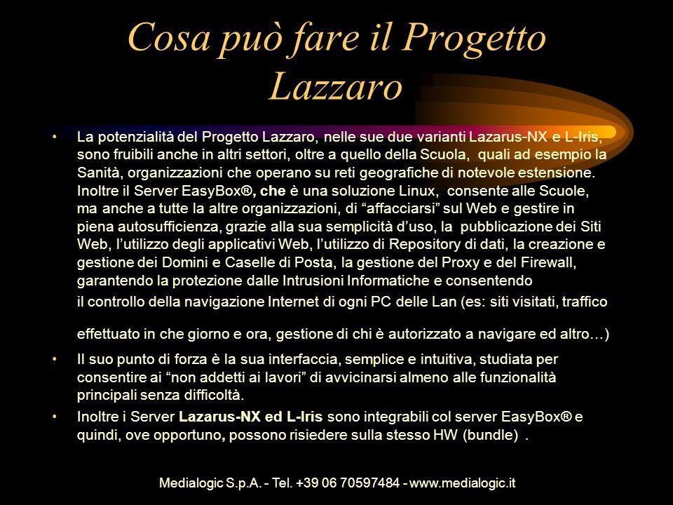 Cosa può fare il Progetto Lazzaro