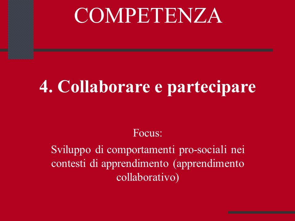 4. Collaborare e partecipare