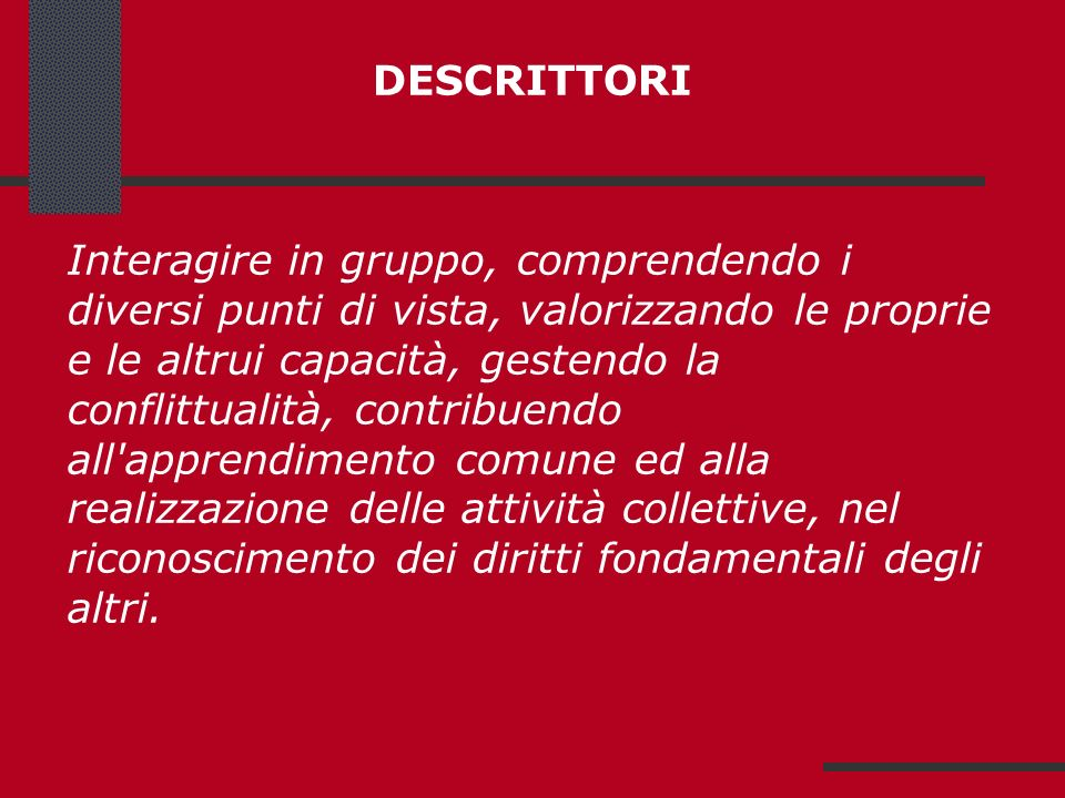 DESCRITTORI