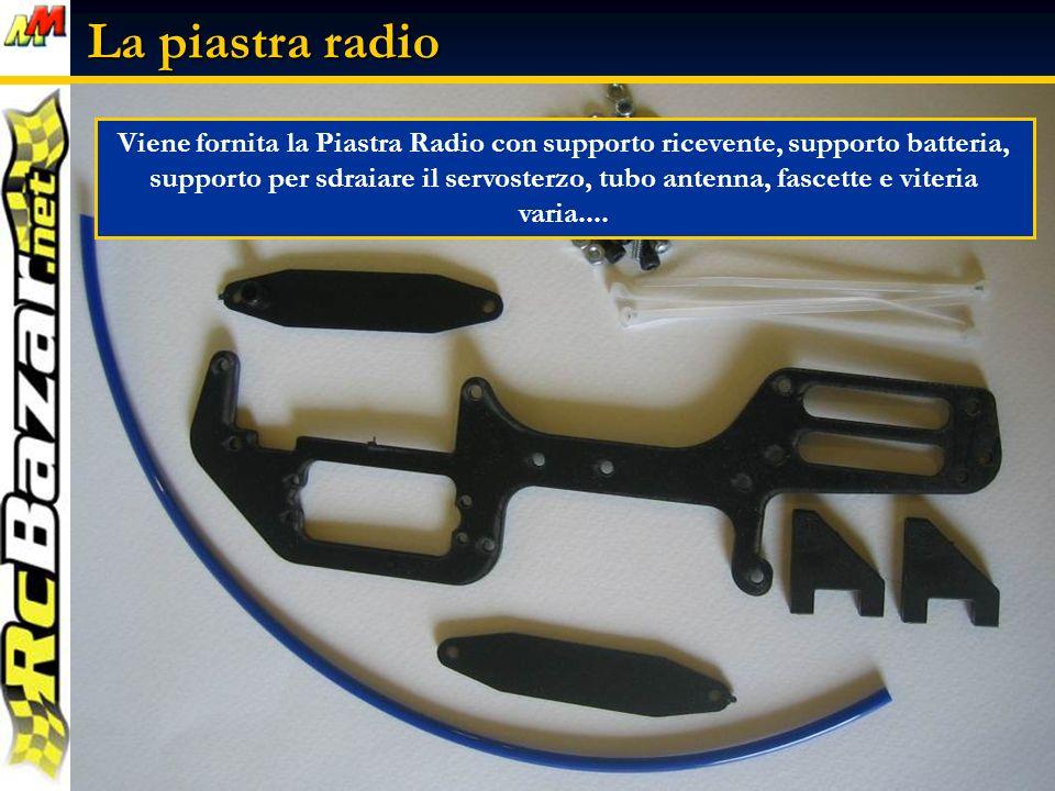 La piastra radio