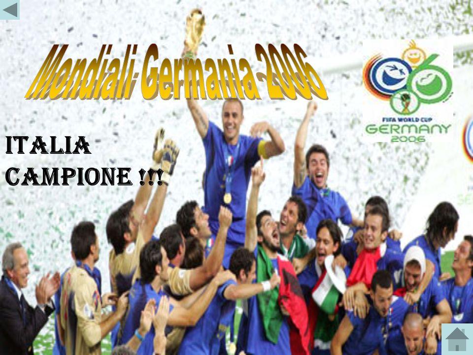 Mondiali Germania 2006 ITALIA CAMPIONE !!!