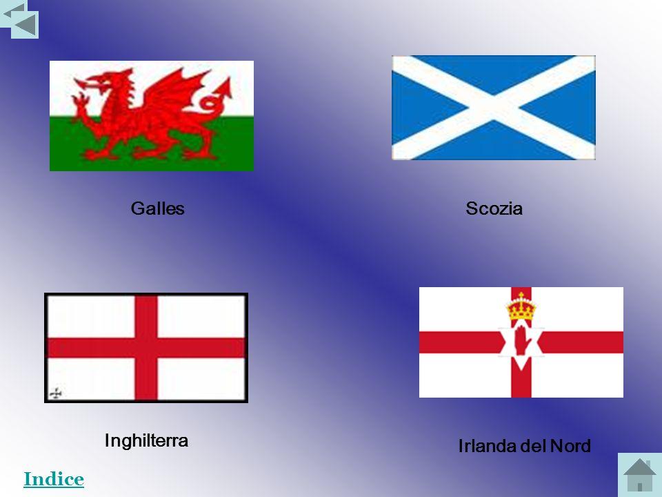 Galles Scozia Inghilterra Irlanda del Nord Indice