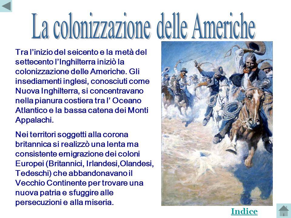 La colonizzazione delle Americhe