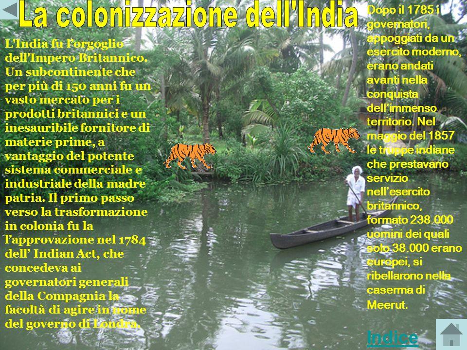La colonizzazione dell India