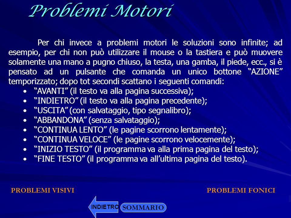 Problemi Motori