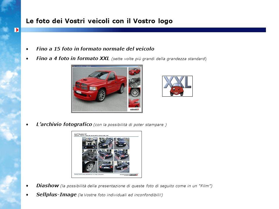 Le foto dei Vostri veicoli con il Vostro logo