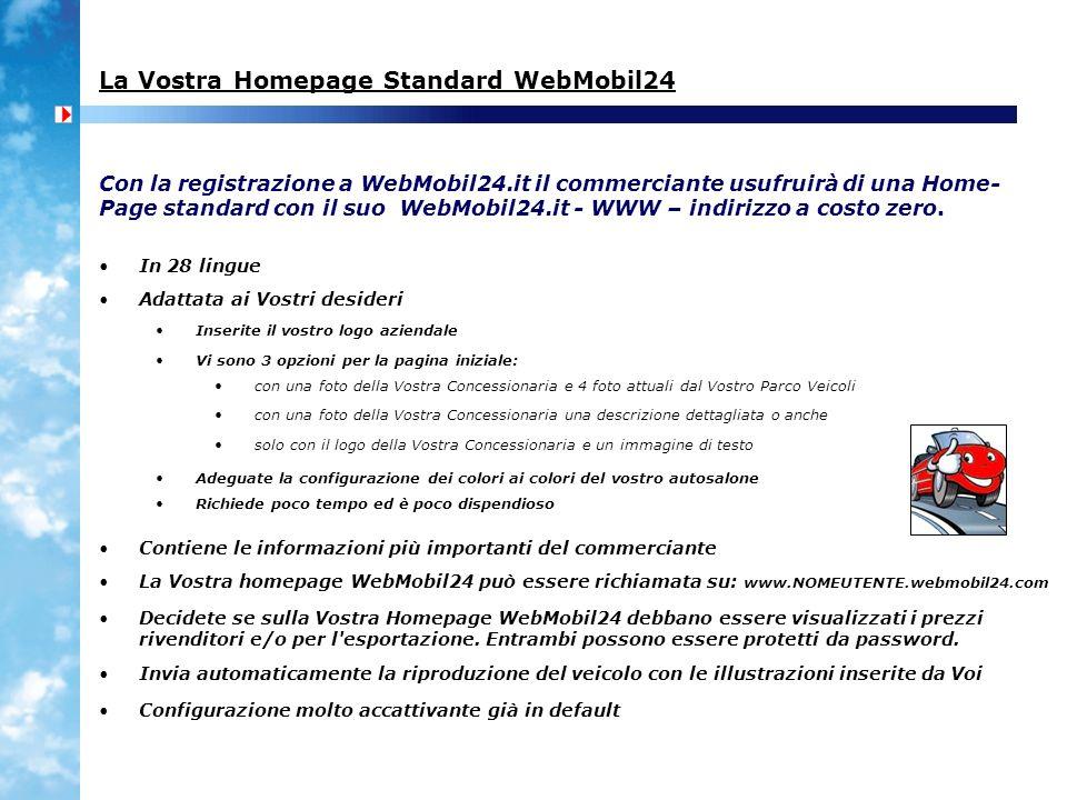 La Vostra Homepage Standard WebMobil24