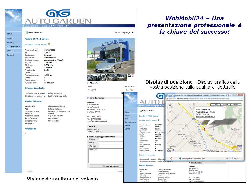 WebMobil24 – Una presentazione professionale è la chiave del successo!