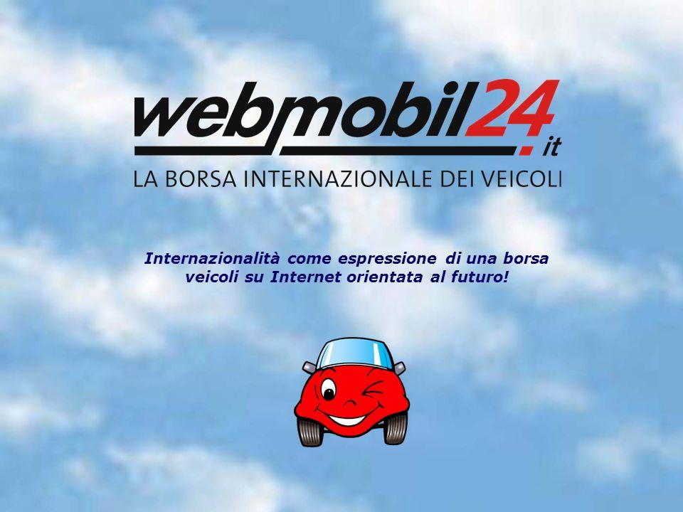Internazionalità come espressione di una borsa veicoli su Internet orientata al futuro!