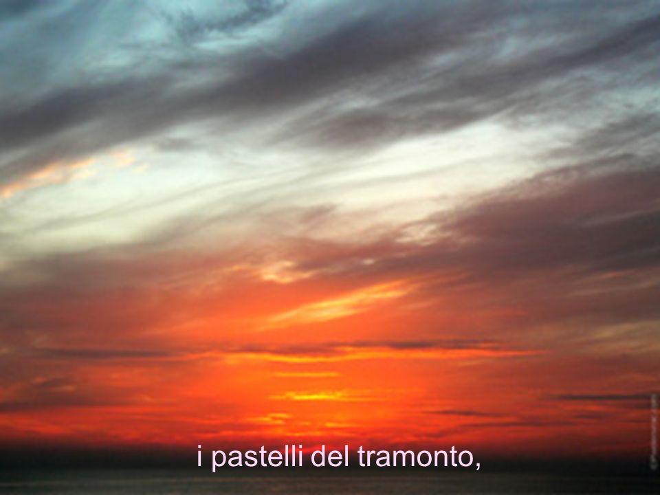 i pastelli del tramonto,