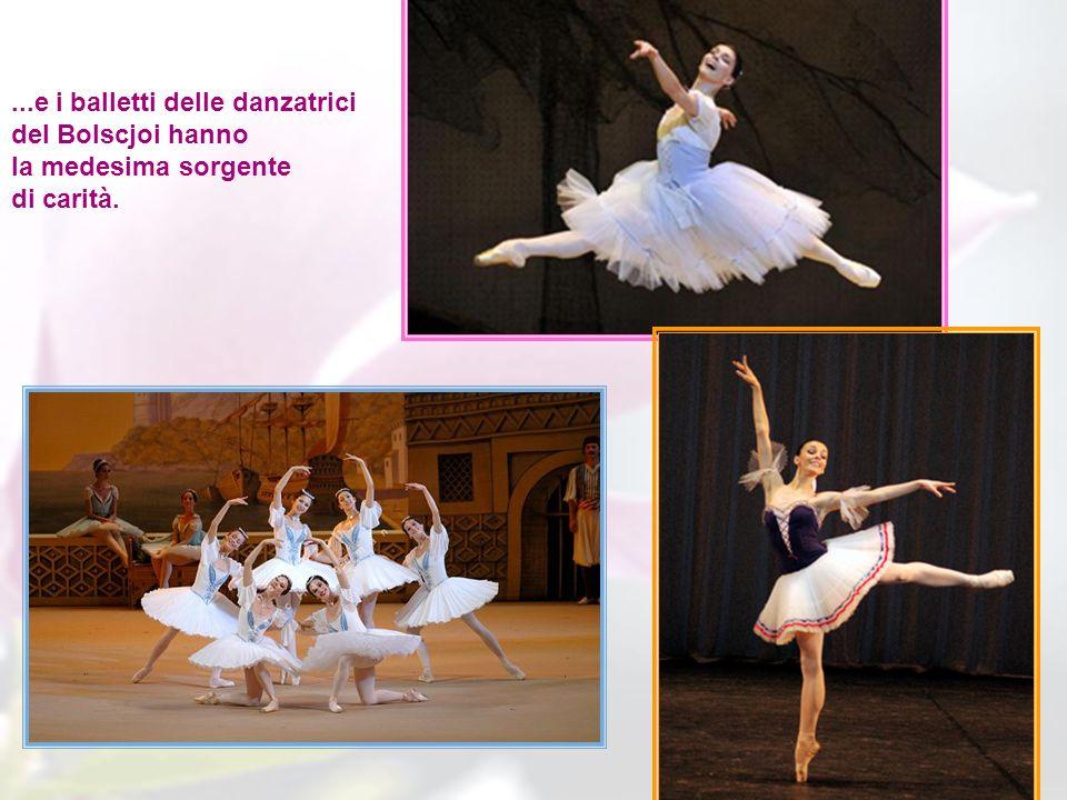 ...e i balletti delle danzatrici