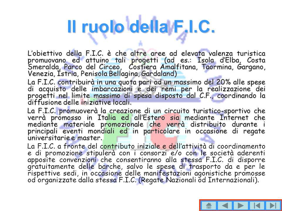Il ruolo della F.I.C.