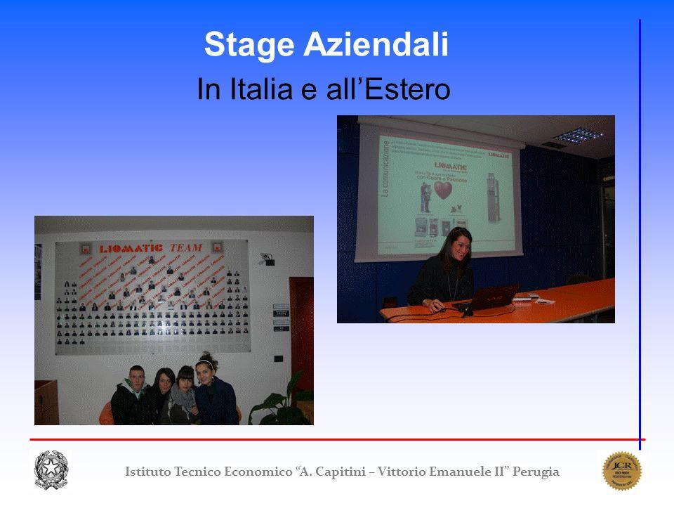 Stage Aziendali In Italia e all'Estero