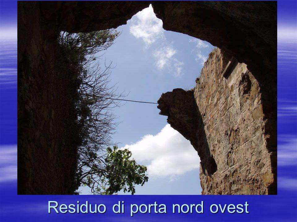 Residuo di porta nord ovest