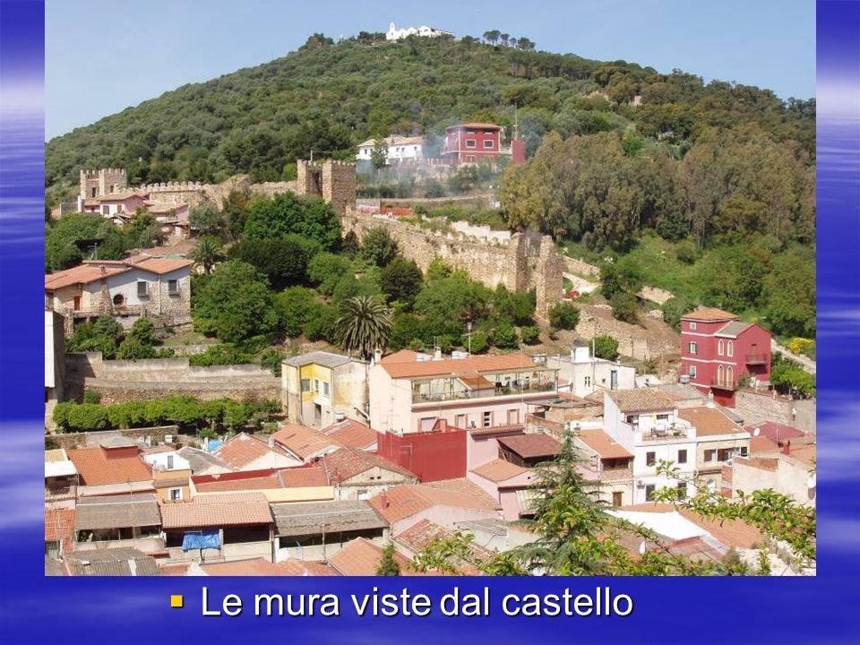Le mura viste dal castello