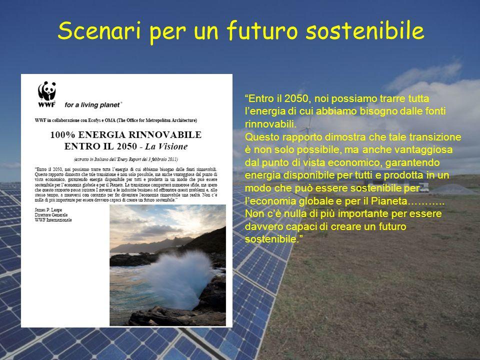Scenari per un futuro sostenibile