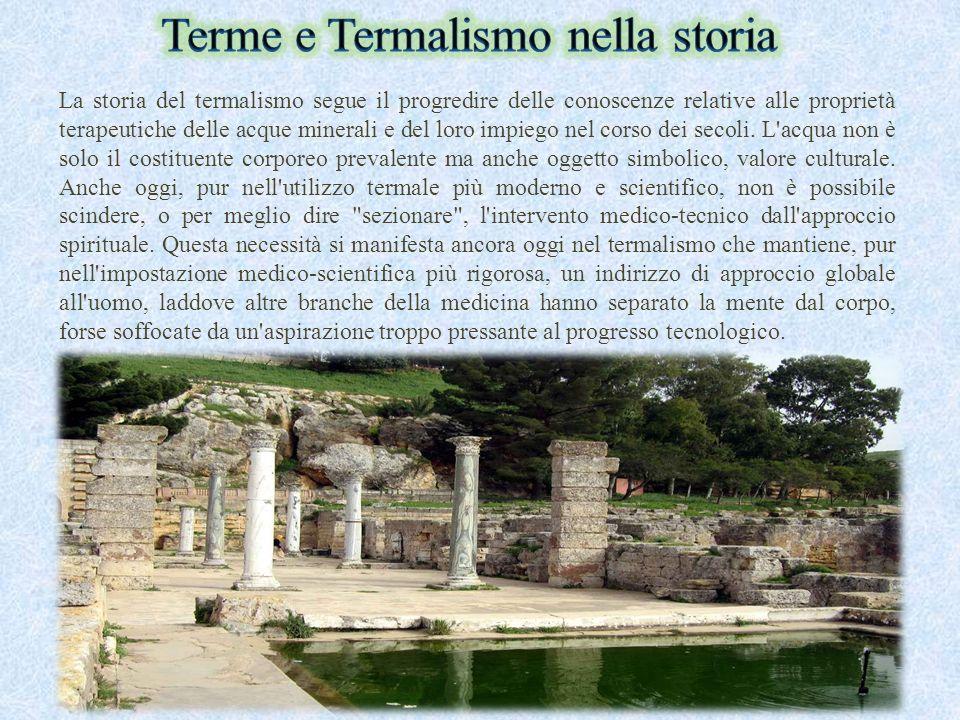 Terme e Termalismo nella storia