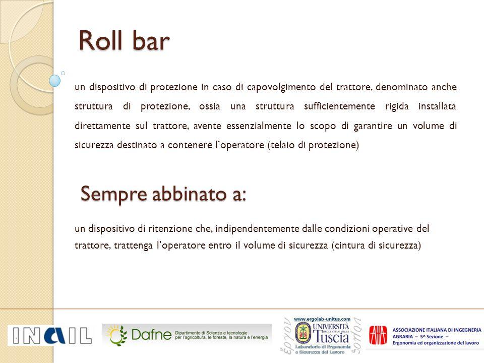 Roll bar Sempre abbinato a: